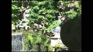 Les jardins de la maison d'Este à Tivoli