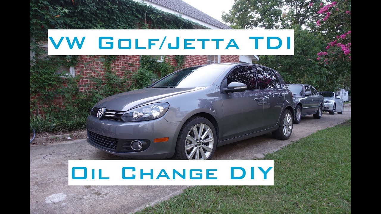 vw golf jetta tdi oil change diy 2009 2014 youtube. Black Bedroom Furniture Sets. Home Design Ideas