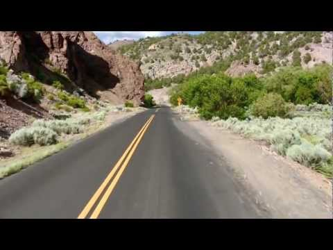 Tour of S.R. 322 Pioche, Nv from Eagle Valley Resort thru Spring Valley State Park part 3 of 3