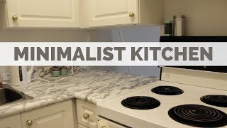 TINY KITCHEN TOUR | FOR A MINIMALIST THAT LOVES FOOD