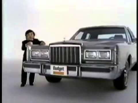 Tattoo Herve Villechaize 1980 S Budget Rental Car Commercial Youtube