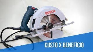 Serra circular Bosch GKS150 - Não compre antes de ver isso.