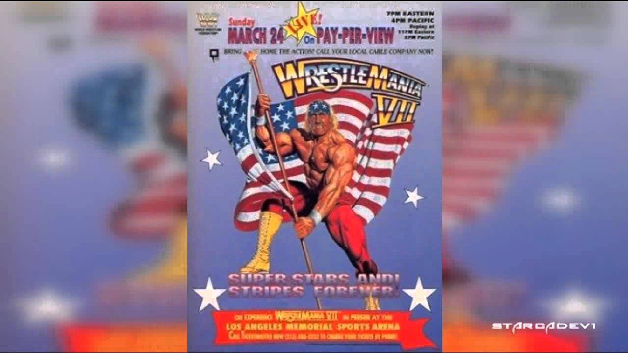 WrestleMania Vl,Vll,Vlland lX Theme song 'The Grand Spectacle'