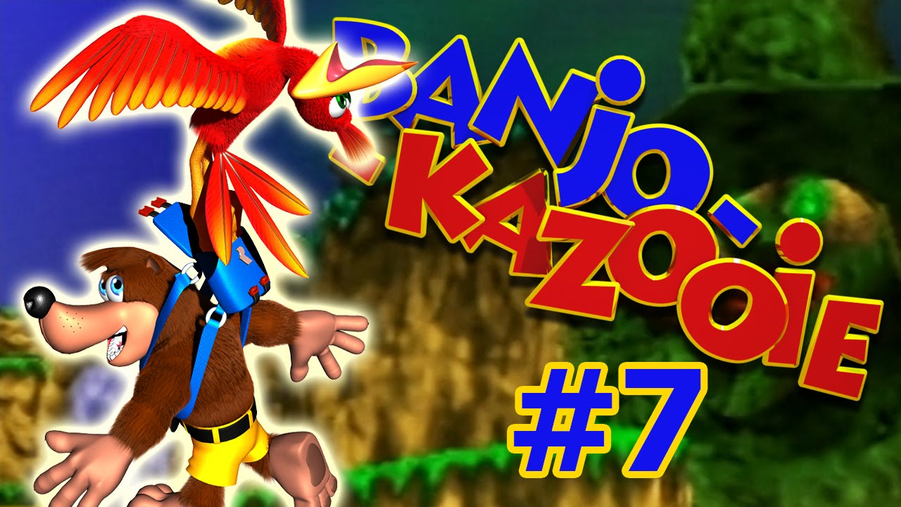 schweißausbrüche in gobi's valley - banjo kazooie gameplay #7 [n64