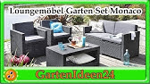 Allibert Monaco lounge set with storage table assembly video ...