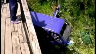 Кошурниково. Аварія на містку через р. Джебь