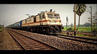 Coalfield Express Honking Madly and running at a speed of 110 Kmph