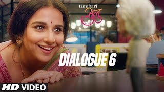Tumhari Sulu | Dialogue Promo 6: Ek Line Baaki Hai | Vidya Balan