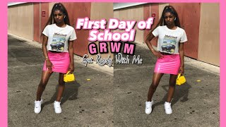 First day of school Grwm   Grwm for the First day of school