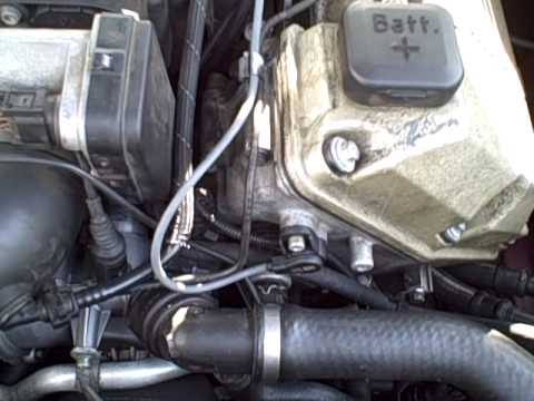 Bmw 740il E38 Maf And Cps Replacement Pt1