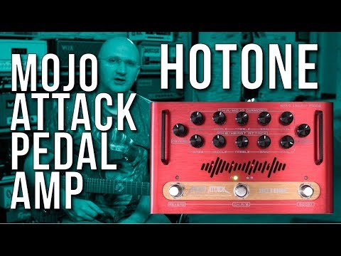 Is It All You Ever Wanted In A Pedal Board Amp... Hotone Mojo Attack