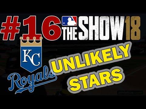 UNLIKELY STARS | KANSAS CITY ROYALS FRANCHISE EPISODE 16 | MLB 18 FRANCHISE