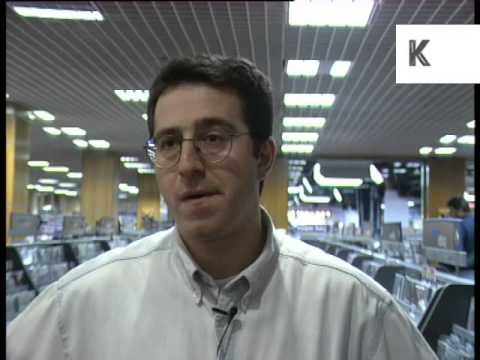 1995 HMV Press Officer, On the Internet and the Music Industry