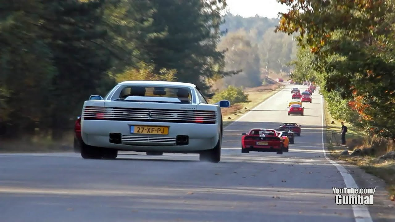 50 Exotic Cars Drive By Sound Ferrari Lamborghini Spyker Wiesmann Dodge 1080p Hd