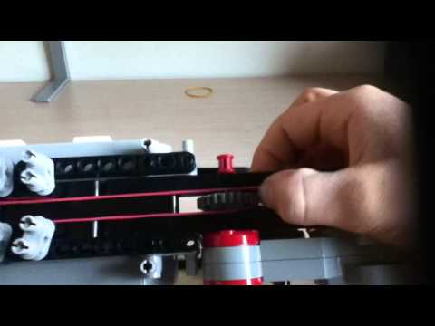 lego mindstorms ev3 gun that shoots - YouTube