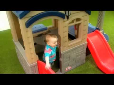 Little Tikes Playhouse A Backyard Play House And Climber In One The Perfect Christmas Gift Idea You