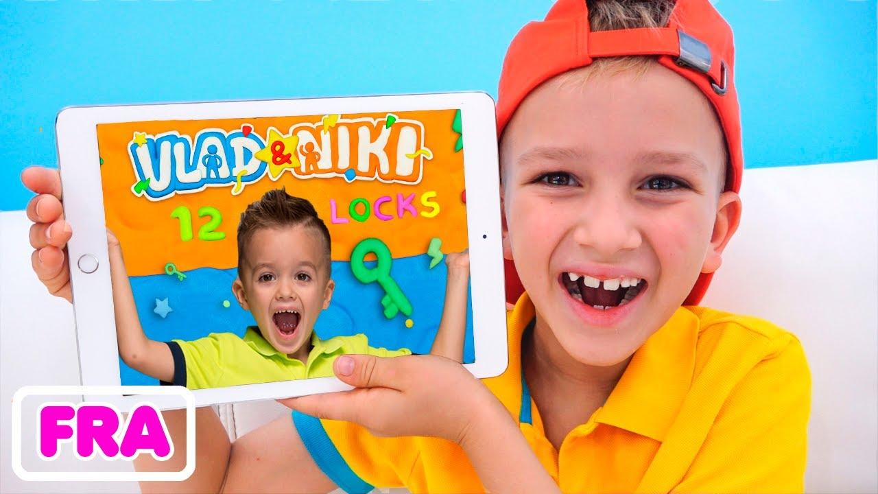 Vlad and Niki 12 Locks   nouveau jeu pour enfants