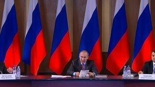 Владимир Путин: нужно обеспечить массовое оформление незначительных ДТП без участия ГИБДД