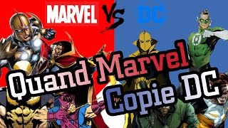 QUAND MARVEL COPIE DC