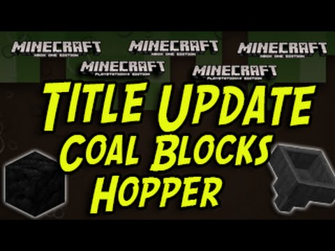 how to make coal in minecraft ps4