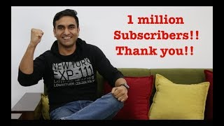 Thank You 1 Million Subscribers - | Lalit Shokeen Films |