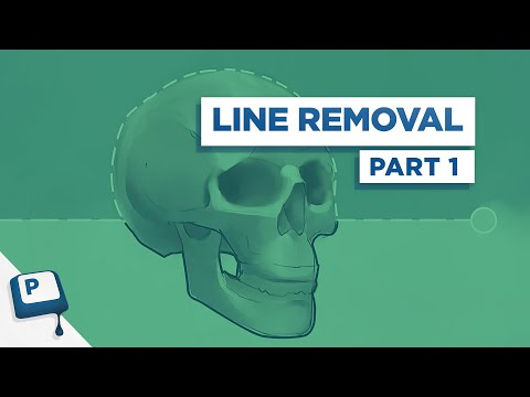 Removing linework from your Paintings Pt 1