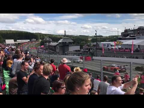 Total 24h of Spa 2017 - Start from tribune | Main race - Blancpain