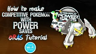 How To Pokegen Competitive Pokemon with Powersaves Omega Ruby & Alpha Sapphire