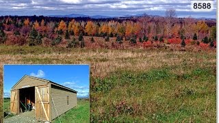 Tree Farm For Sale In Maine | 90 Acres In Littleton Maine | MOOERS #8588