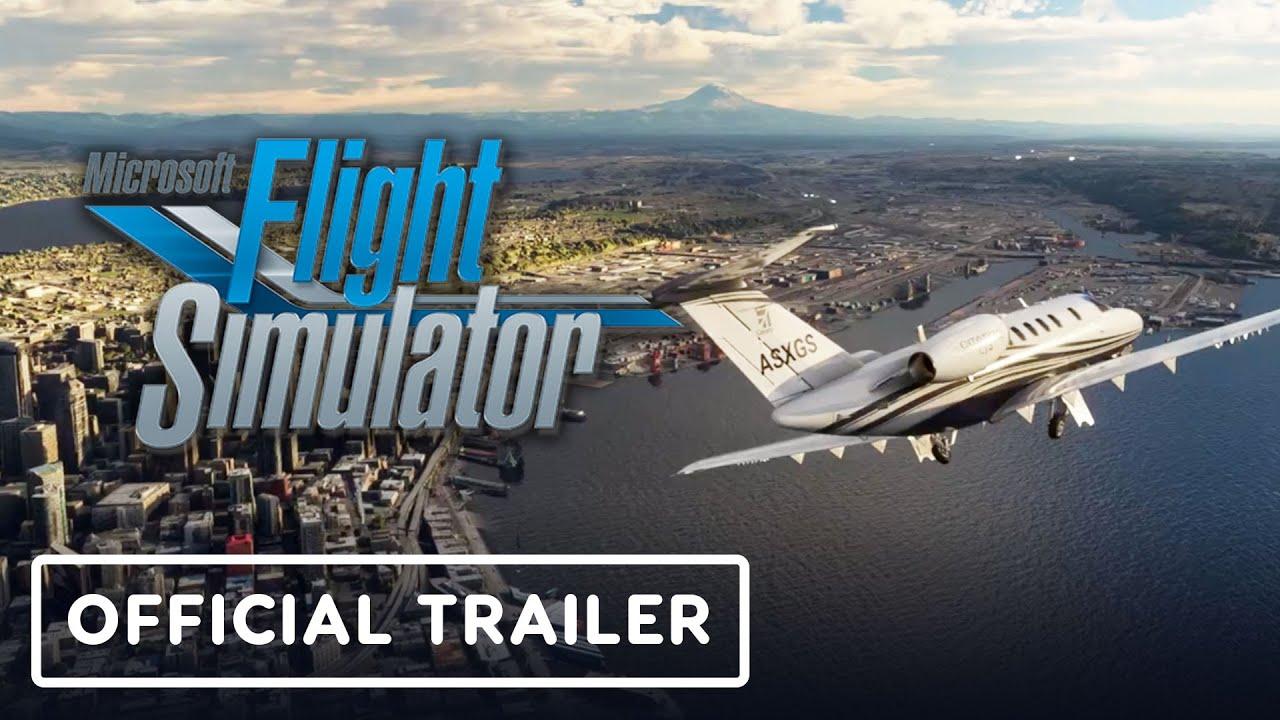 Microsoft Flight Simulator - Official United States Update Trailer - IGN