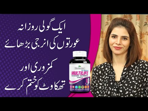 Best Multivitamin to Boost Daily Energy Levels   Ayesha Nasir
