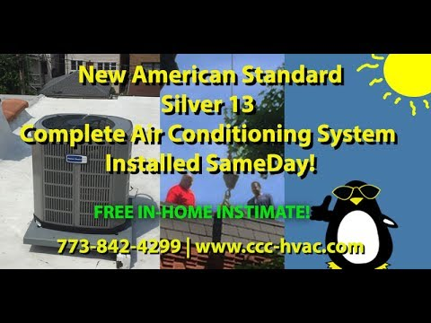 American Standard 80 Gas Furnace Amp Silver 13 A C System 7