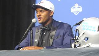 Deshaun Watson FULL 2017 NFL Draft post-draft press conference (Houston Texans)