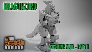 Dragonzord - Costume Vlog 1