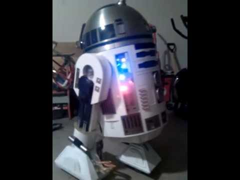Life Size R2 D2 remote controlled - YouTube