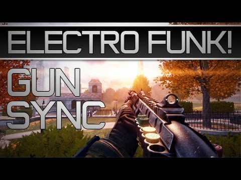 black ops 2 gun sync electro funk youtube. Black Bedroom Furniture Sets. Home Design Ideas