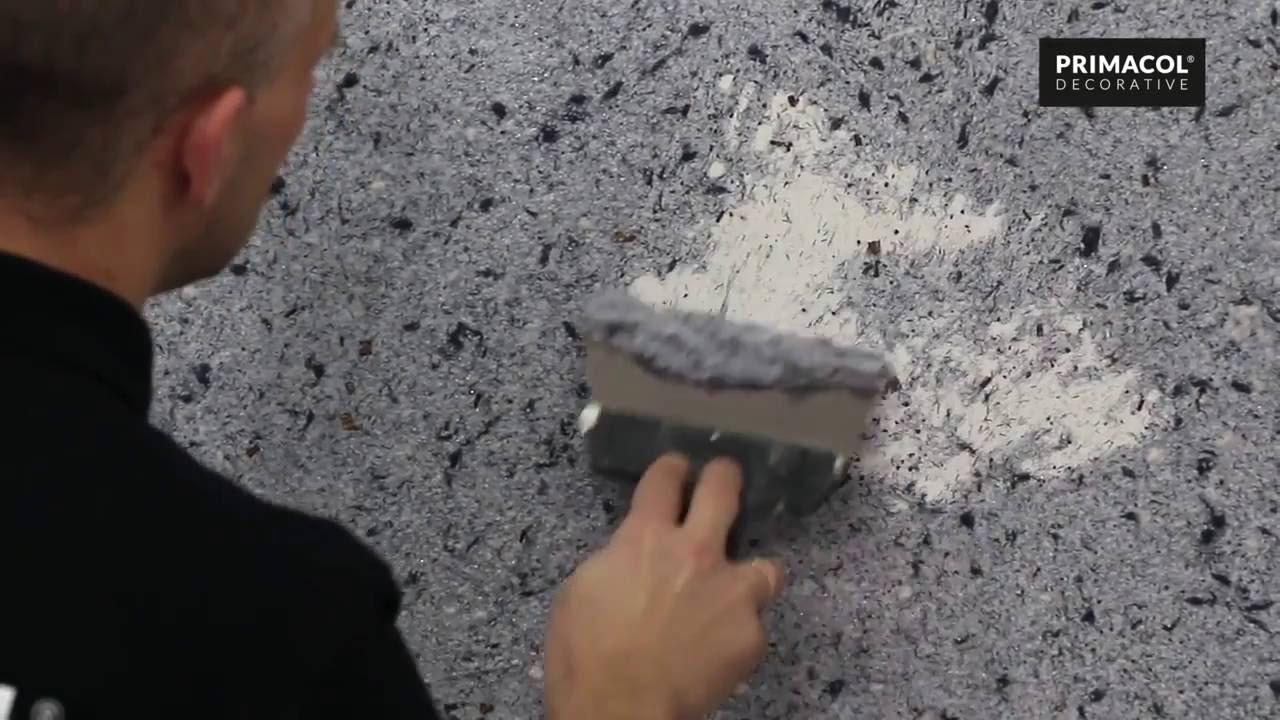 Tynk Japonski Primacol Decorative Film Instruktazowy Youtube