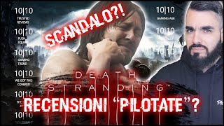"DEATH STRANDING e le RECENSIONI ""PILOTATE"": scandalo o no?"