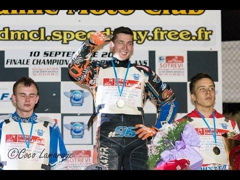 DIMITRI BERGE, CHAMPION D'EUROPE 2016 SPEEDWAY U21