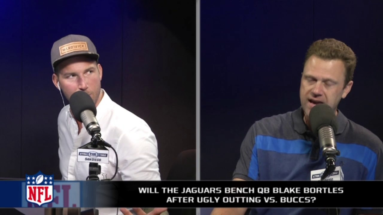 Blake Bortles opens up about getting benched in preseason