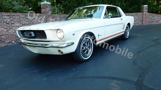 1966 Ford Mustang Cpe V8 for sale Old Town Automobile in Maryland