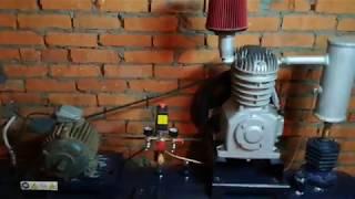 подключение компрессора СО-7Б через частотный преобразователь