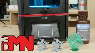Unboxing And Testing The Anycubic Photon DLP 3D Printer