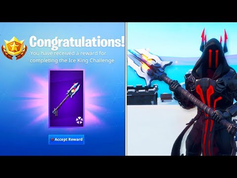 NEW ICE KING *TIER 100* PICKAXE In Fortnite! FREE