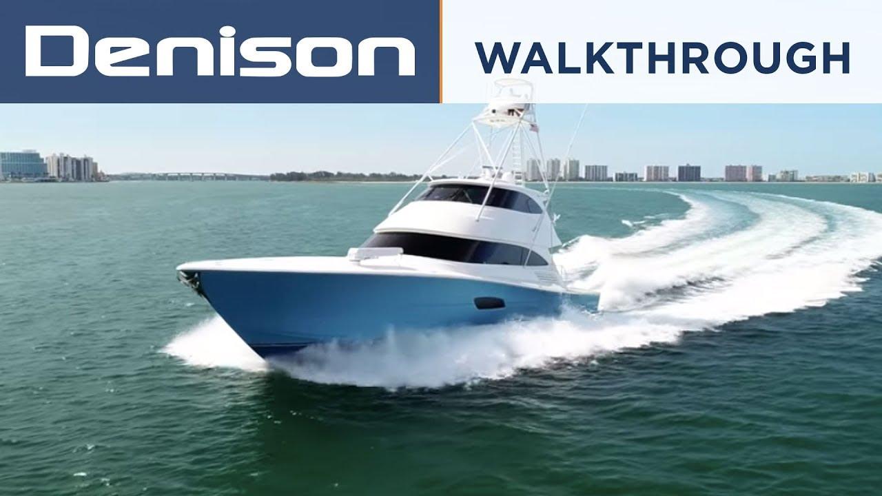 92 Viking Enclosed Bridge Yacht [Walkthrough]