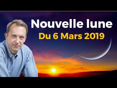 NOUVELLE LUNE DU 6 MARS 2019 - SPIRALES HEUREUSES