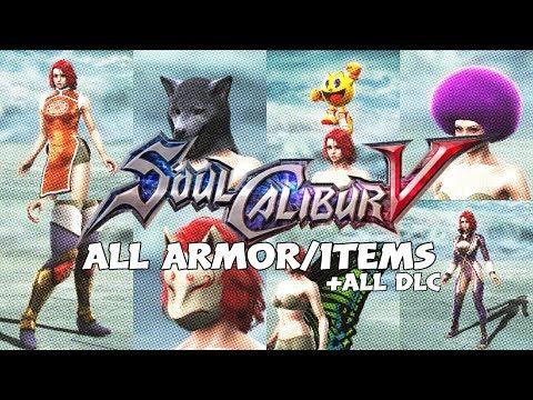Soulcalibur V All Armor/Items +All DLC (Female)