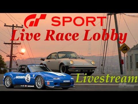 live-race-lobby-gran-turismo-sport-🏎🚥---kommentierter-livestream-ps4-gmr166-gt-sport-german