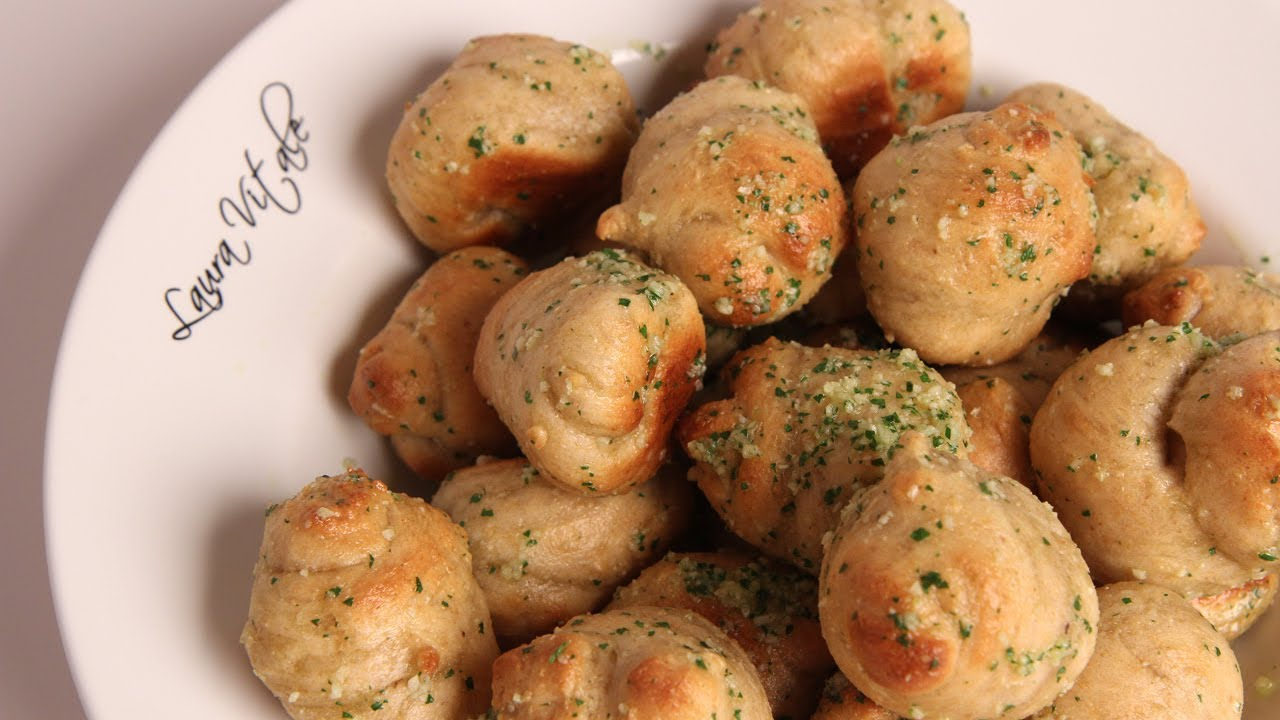 Homemade Garlic Knots - Recipe by Laura Vitale - Laura in the ...