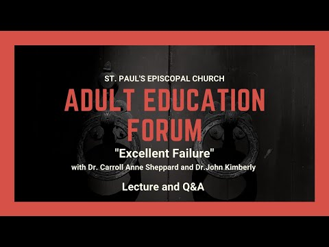 Adult Education | Excellent Failure: A Conversation at the Intersection of Living and Faith